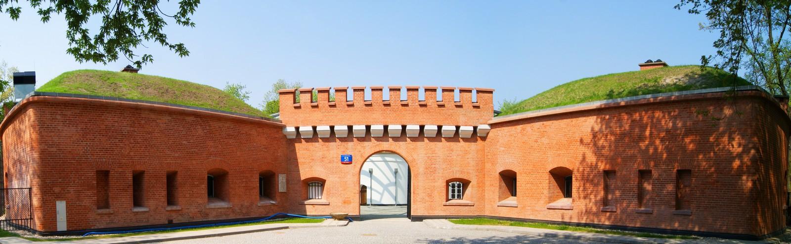 Fort – wejście