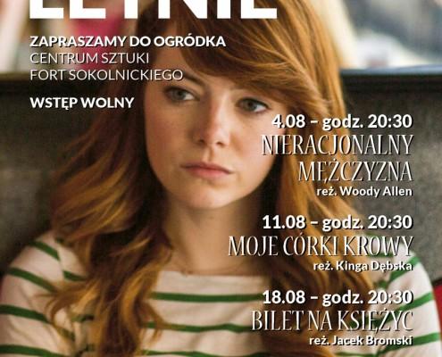 Plakat Kino Letnie sierpien Internet