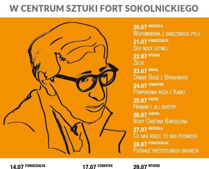 Woody Allen w Nowym Forcie