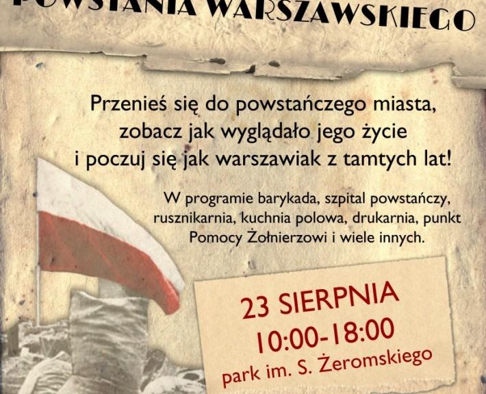 Diorama Interaktywna z okresu Powstania Warszawskiego