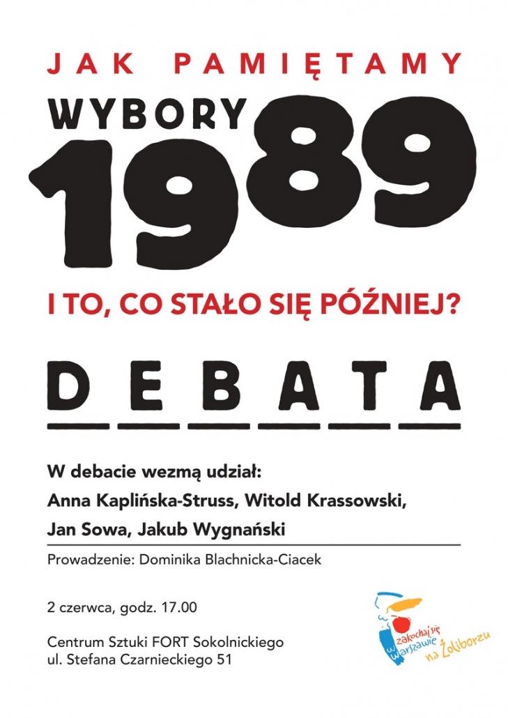 Wybory 1989 - debata