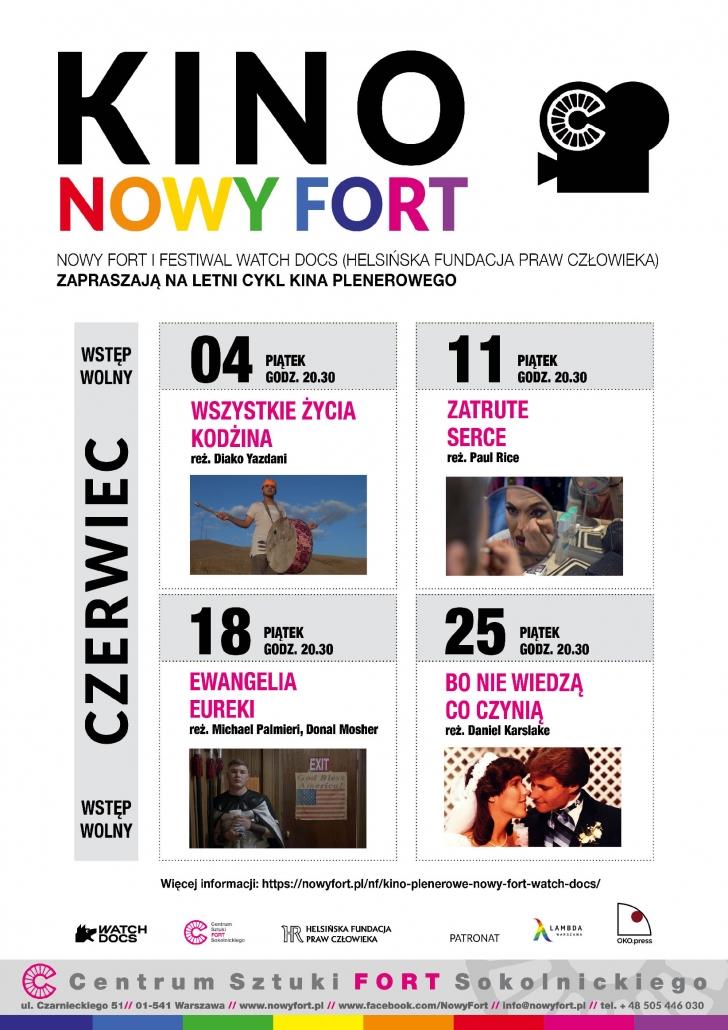 Kino Nowy Fort program Czerwiec