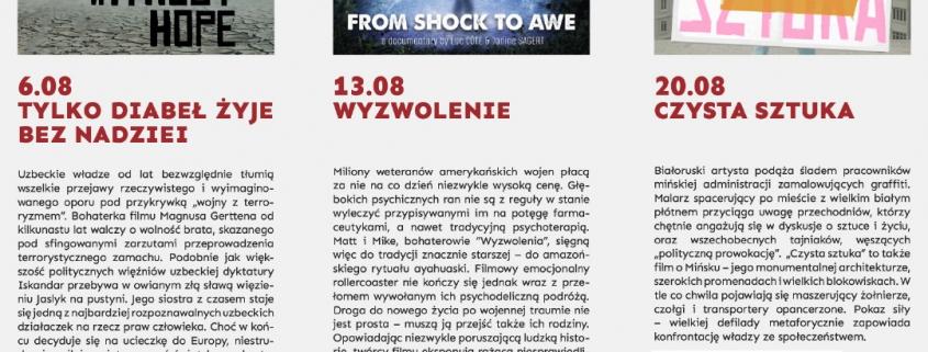 Kino Nowy Fort w Centrum Sztuki Fort Sokolnickiego